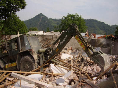 Jonyang equipment participate in Wenchuan disaster relief