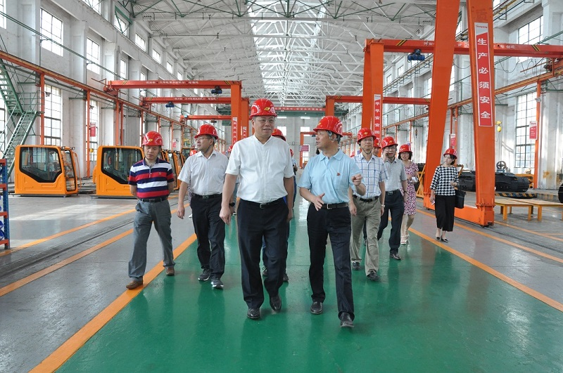 Wang Shijie, the deputy governor of the Guizhou Provincial People's Government and his party, visited Jonyang Kinetics